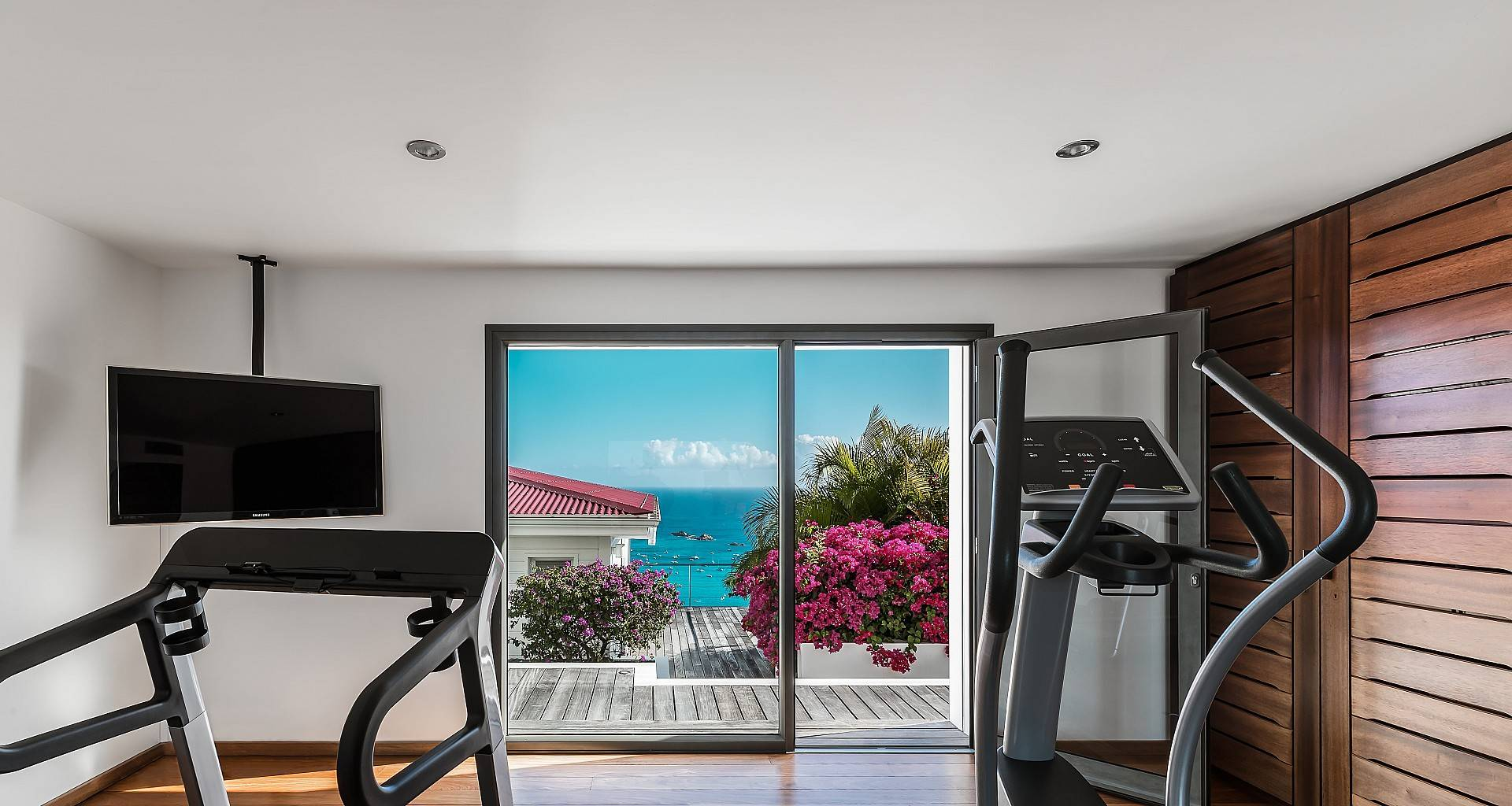 Villa The View Fitness Room